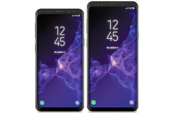 New Samsung Galaxy S9 and S9+ renders show the phones next to each other