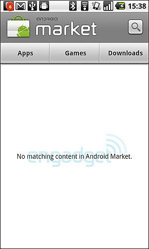 Is the Android Market looking like this for you? - 160,000 Android phones activated daily says Google; Android Market down?