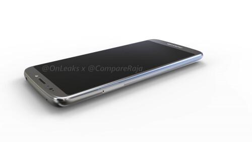 Leaked Moto G6 Play renders