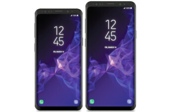 Leaked Samsung Galaxy S9 and S9+ renders