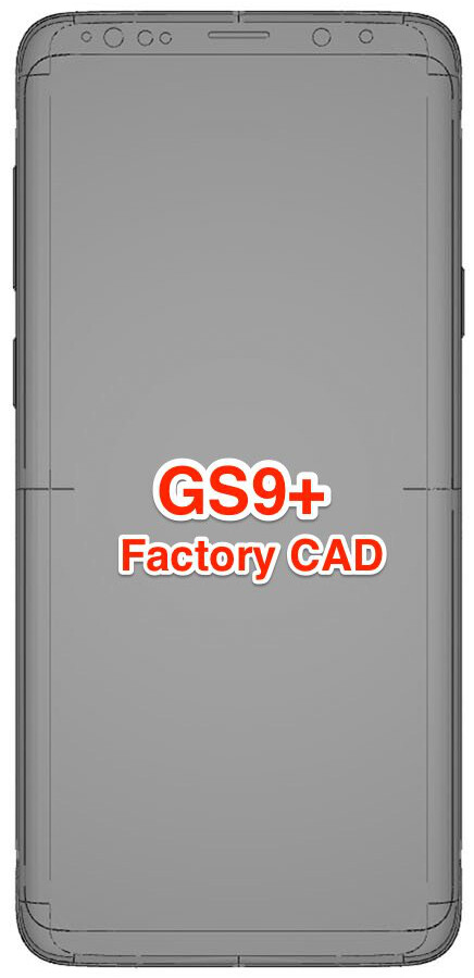 Leaked Galaxy S9+ vs S8+ factory schematics solve the mystery of the thickening bezels