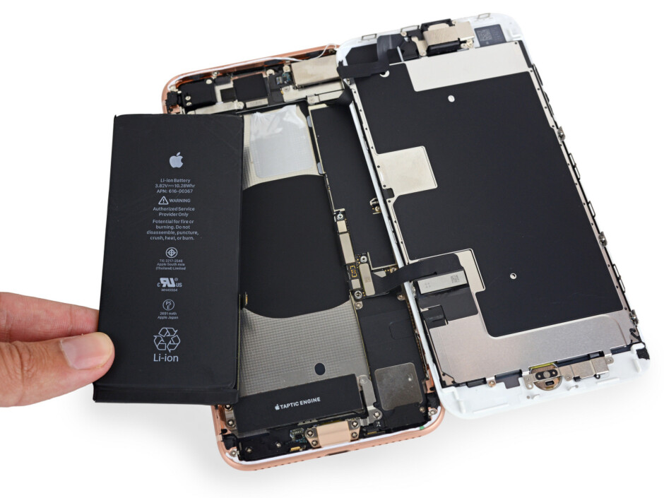 The iPhone Xr is likely to carry over the rectangular battery and non-stacked motherboard from the 8 Plus - Apple iPhone Xr vs iPhone Xs: all major differences to expect