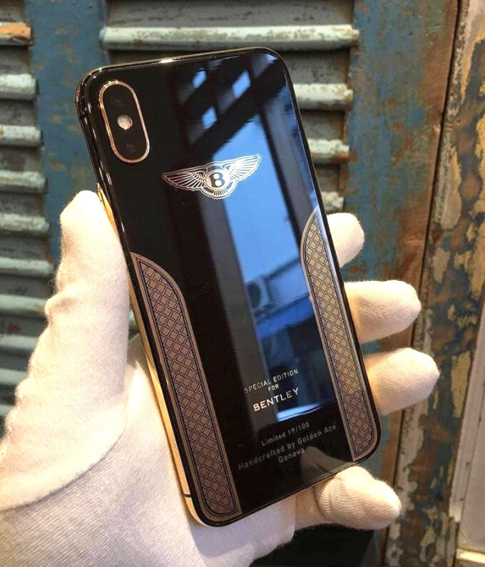 Are You Obscenely Rich Take A Gander At The Iphone X Bentley Edition