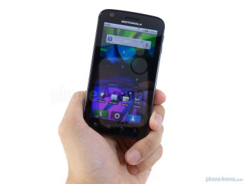 AT&T's first high-end Android offering was the Motorola ATRIX 4G.