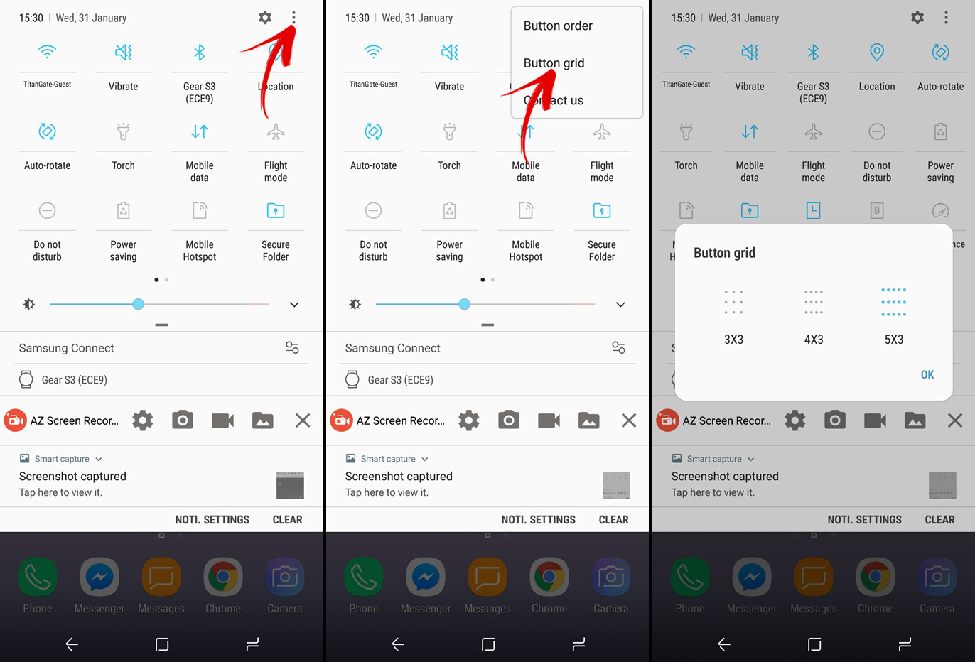how to add exceptions to android do not disturb