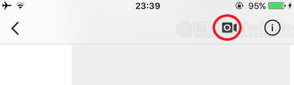 Screenshot of Instagram for iOS shows icon to press to initiate video chats - Report: Video chats coming to Instagram