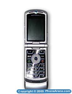 Motorola RAZR V3C - CDMA version of the RAZR V3 approved by FCC