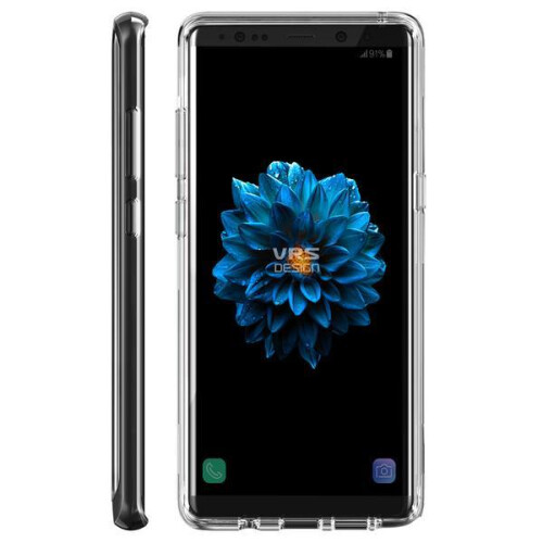 VRS Design Crystal Bumper case for Galaxy Note 8