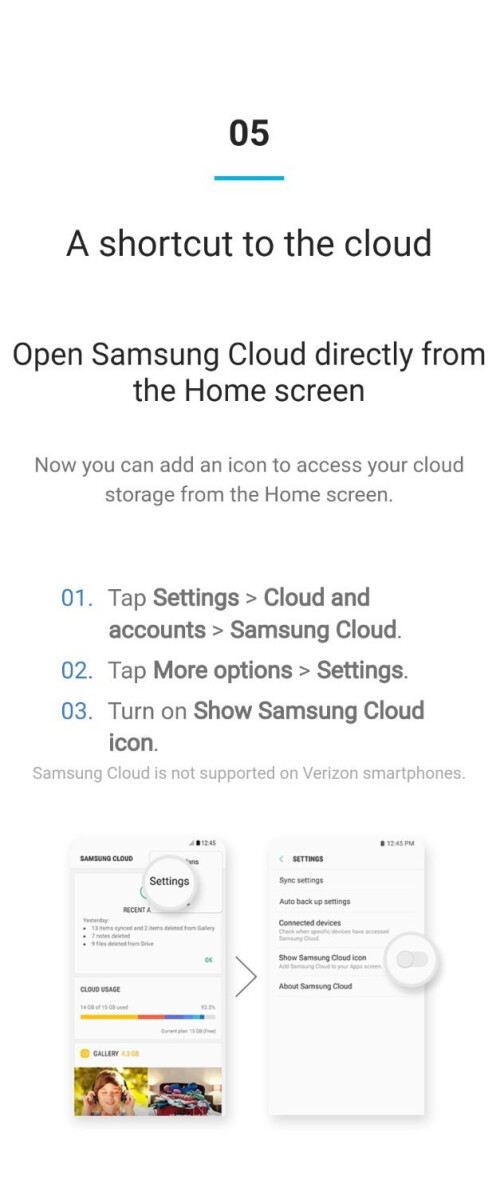 Samsung Experience 9.0 new features