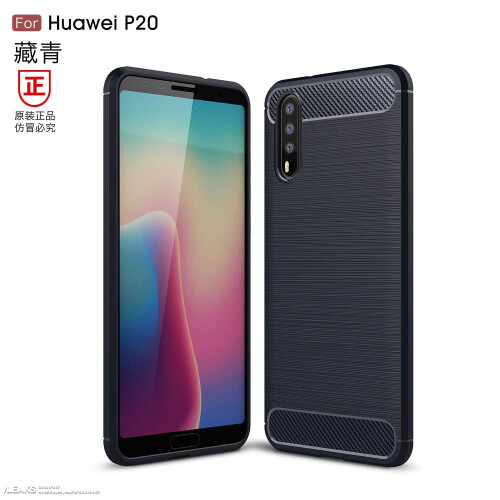 Alleged Huawei P20/Plus/Lite images and renders