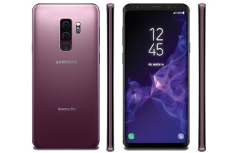 Here are the Samsung Galaxy S9 and S9+ in lilac purple