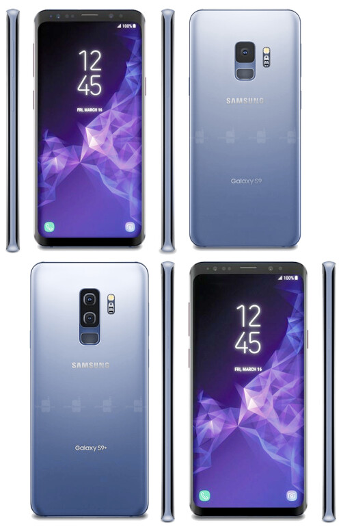 Galaxy S9/S9+ Coral Blue
