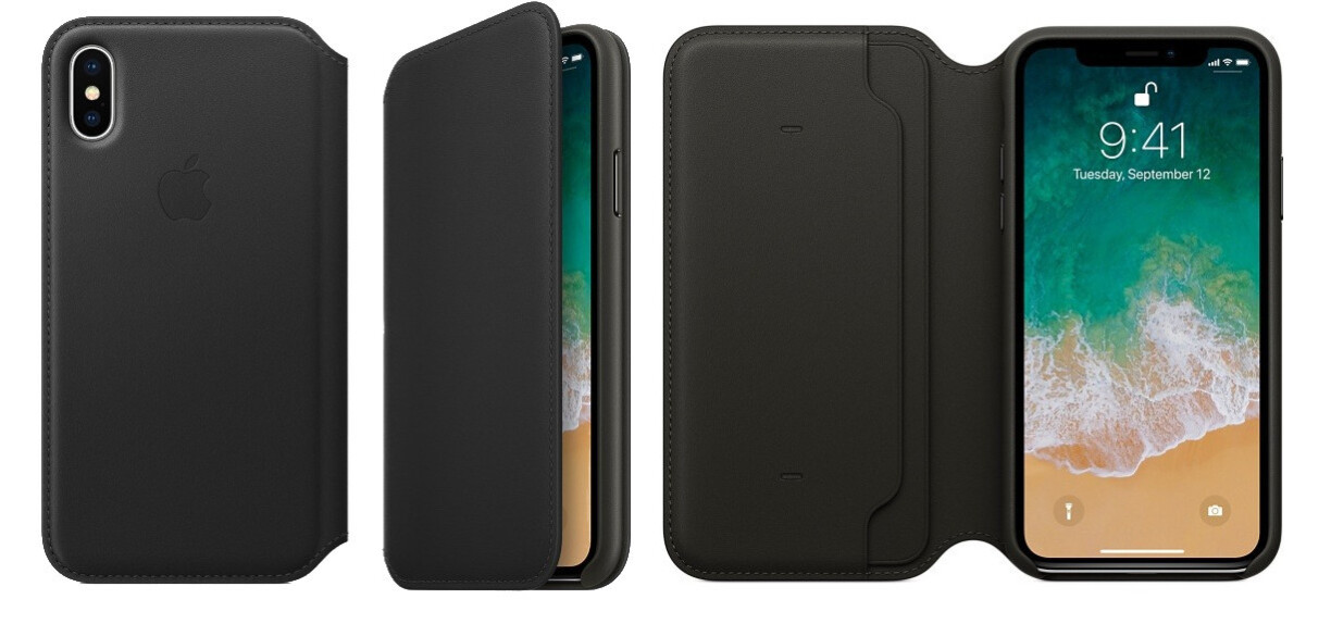 online store 7fbb3 f0d26 Deal: Apple iPhone X official leather folio case is 44% off, save ...