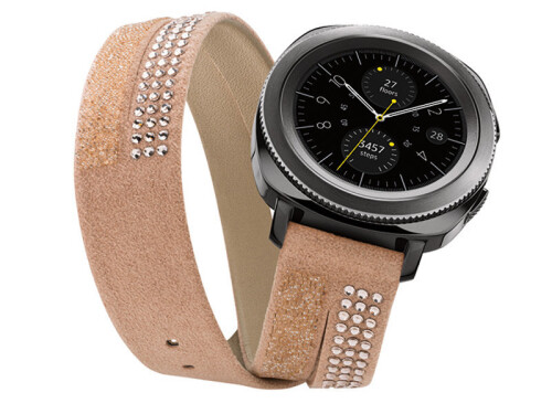 Samsung is currently offering this Swarovski strap for free with its Gear Sport smartwatch