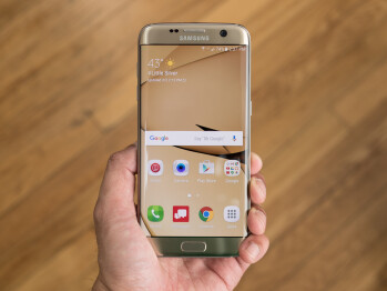 Galaxy S7 edge unit mysteriously receives Android Oreo update, see the software in this video