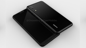 Render of the Huawei P20