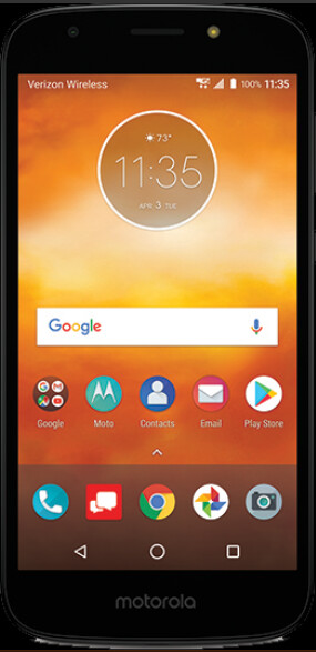 Render of the Moto E5 Play for Verizon - Render of Moto E5 Play shows that the phone is coming to Verizon