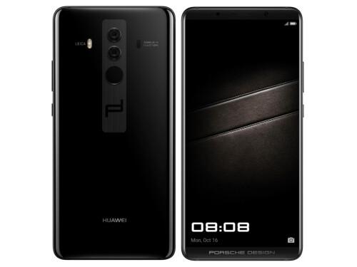 Huawei Mate 10 Porsche Design in Diamond Black