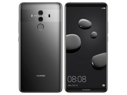 Huawei Mate 10 Pro in Titanium Gray