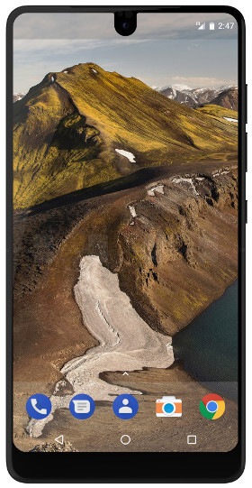 The Essential Phone is currently the only Android smartphone featuring a notch. Funnily enough, its also one of the few devices to get regular Android updates.