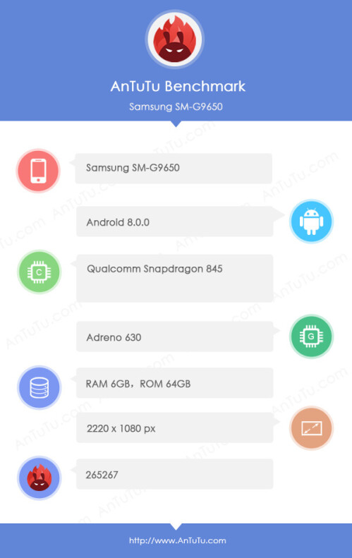 Galaxy S9 with Exynos 9810 and S9+ with Snapdragon 845 benchmarks