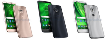 More Moto G6, Plus and Play specs leak out, along with their prices
