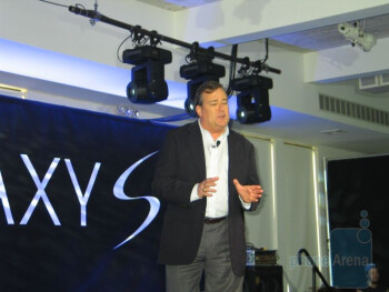 Samsung Galaxy S line launch event in New York