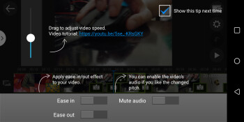 Use the slider in PowerDirector to adjust the speed of your clips.