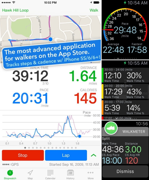 Walkmeter Walking & Hiking GPS