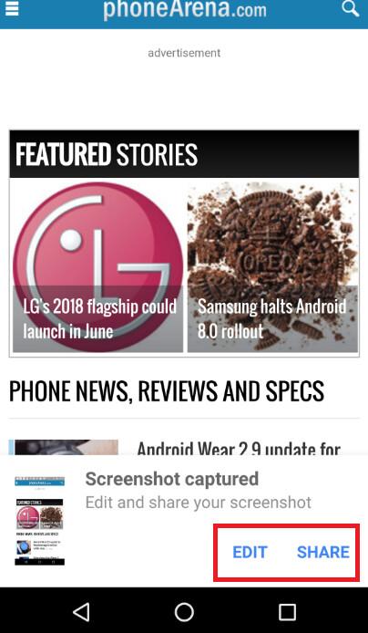 Google App für Android wird bald neue Funktionen hinzufügen, um Screenshots