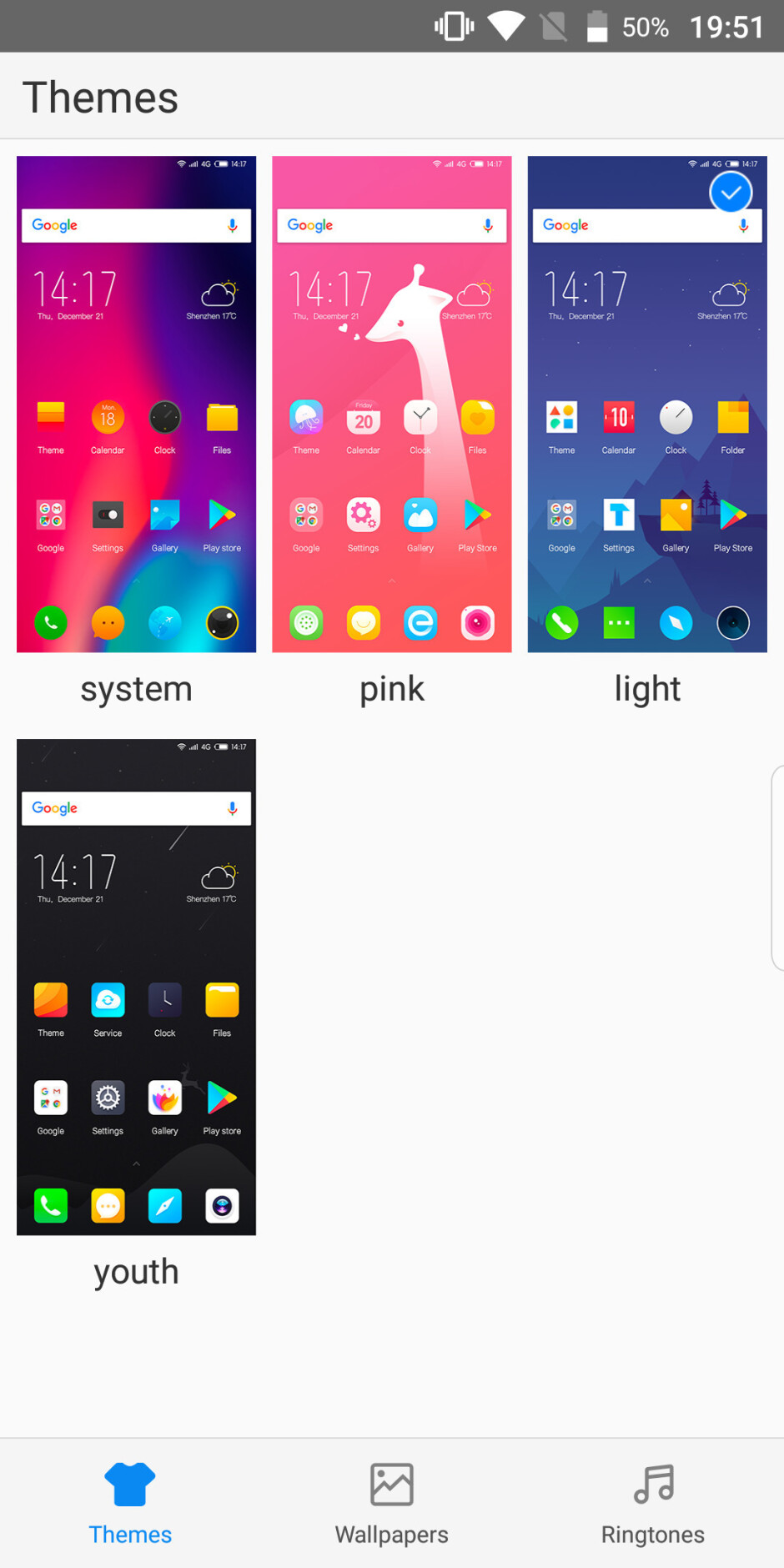 The Oreo interface comes with theming options - Elephone U goes to war with flexible OLED, glistening design, and value-for-money specs