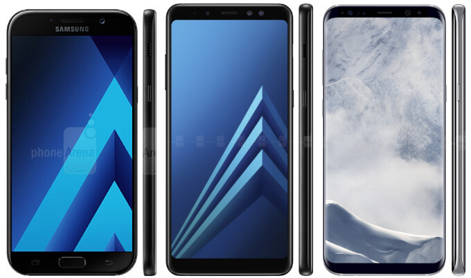 There's plenty of bezel-busting potential in Samsung's midrangers still - Samsung to go all Infinity Display on its midrangers' design, too