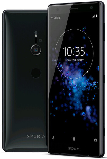 Leaked render of Xperia XZ2