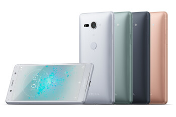 Xperia XZ2 has a glossy, glass back, while the XZ2 Compact makes do with a matte plastic rear panel.