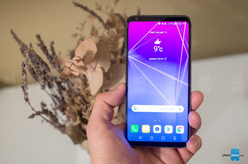 The LG V30S ThinQ in photos
