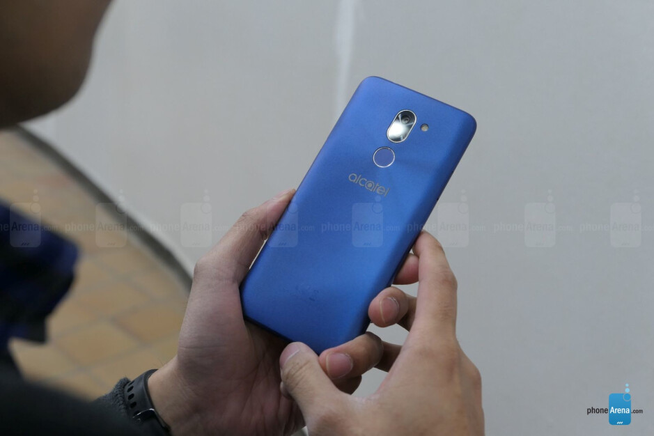From L to R - Alcatel 3, Alcatel 3X, and Alcatel 3V. - Alcatel 3, 3V, and 3X hands-on
