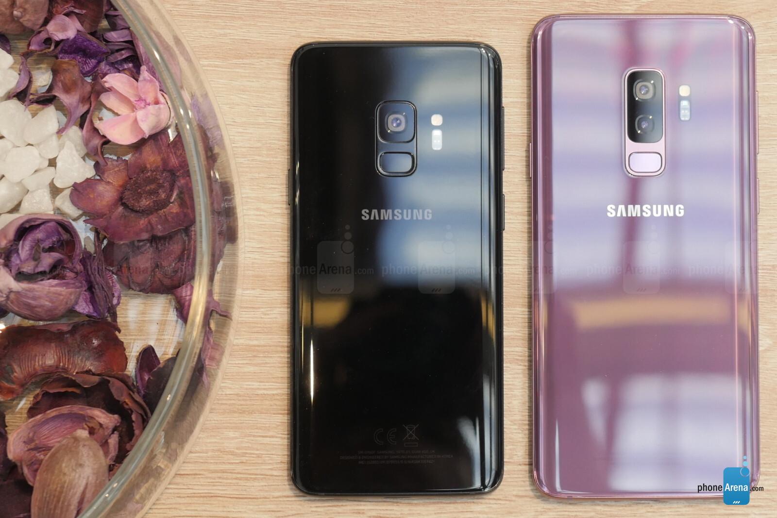 Resultado de imagen para samsung galaxy s9 y S9+ hands on