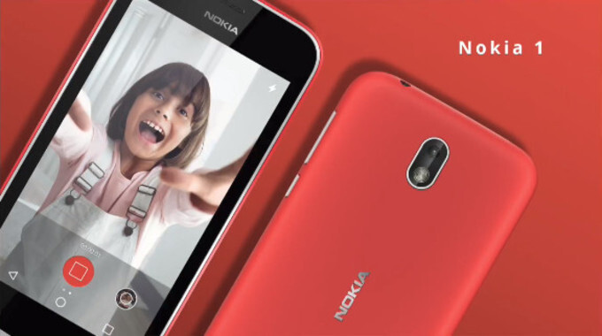 Nokia 1 announced: Nokia's first Android Go phone is incredibly affordable