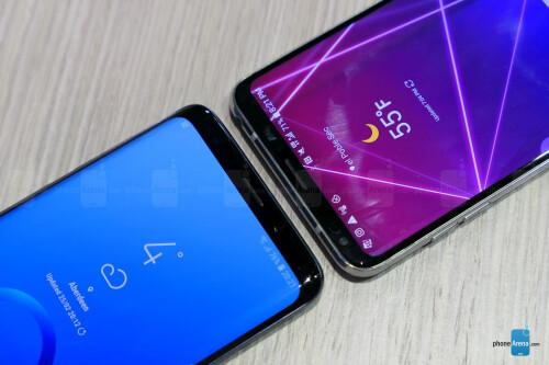 Samsung Galaxy S9+ vs LG V30 first look