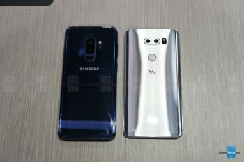 Samsung Galaxy S9+ vs LG V30: first look