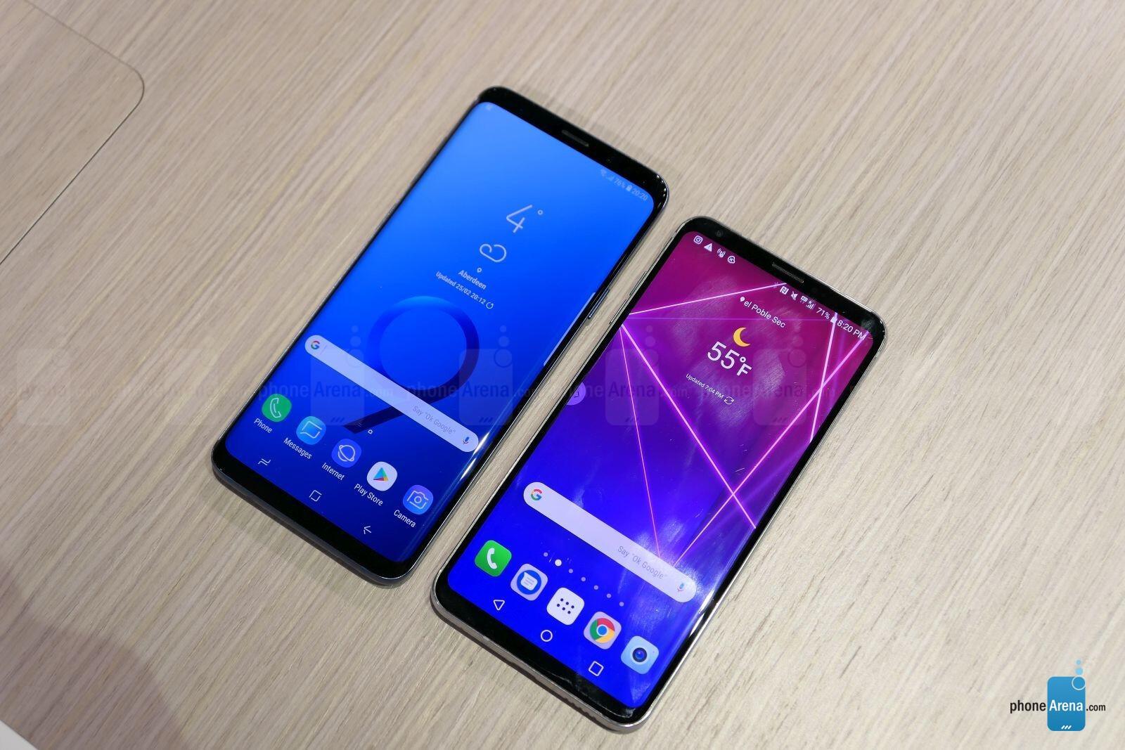 Samsung Galaxy S9+ vs LG V30: first look | PhoneArena