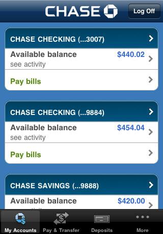 Make a deposit to a Chase account from your iPhone