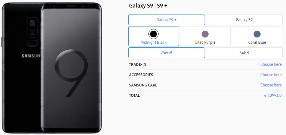 So, you think the Galaxy S9 is expensive? Check out the UK, Germany, Italy or China prices!