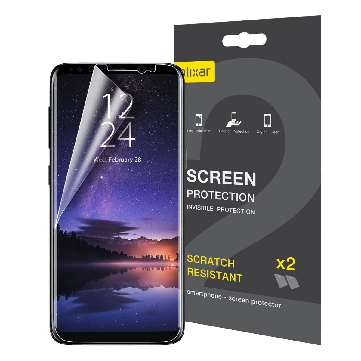 Cell Phones & Accessories Tempered Glass Screen Curved Full Cover For Samsung Galaxy S9 S10 Plus Note 9 In Pain Cell Phone Accessories