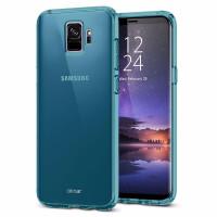 Olixar-FlexiShield-blue-galaxy-s9-thin-case