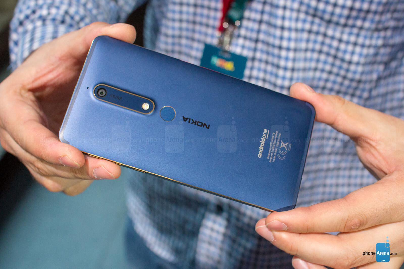 Nokia 6 2018 hands on - PhoneArena