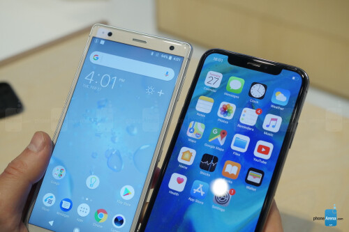 Sony Xperia XZ2 vs iPhone X: how does Sony's best compare to Apple?