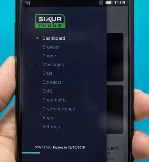 Meet the SikurPhone – the device aimed at cryptocurrency maniacs
