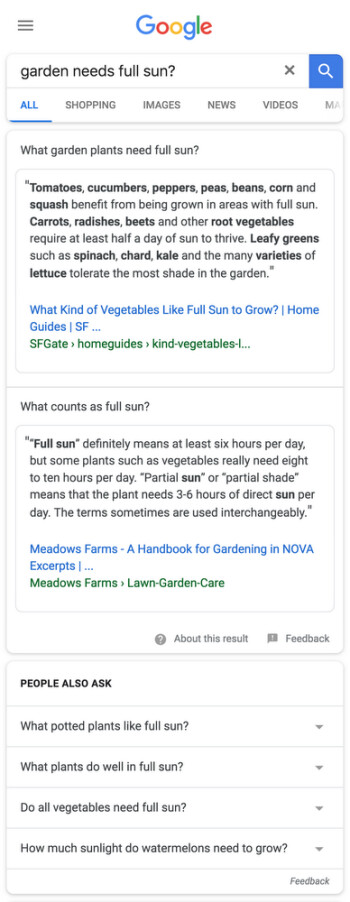 Google enhances Search to provide more in-depth results to questions