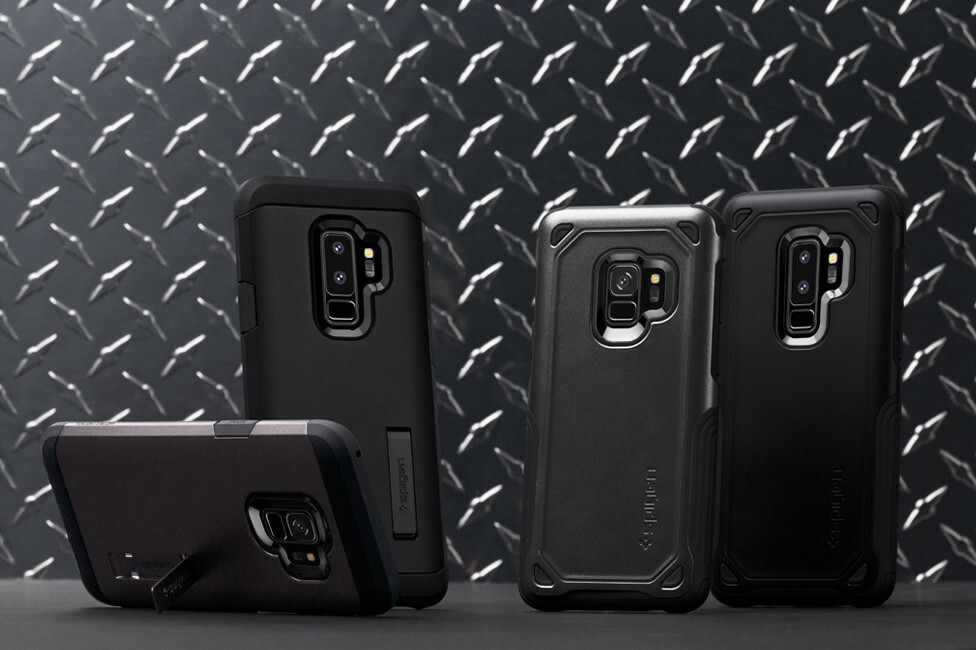 premium selection d2676 5f647 Meet Spigen's lineup of cases for the Galaxy S9 and Galaxy S9+! ...